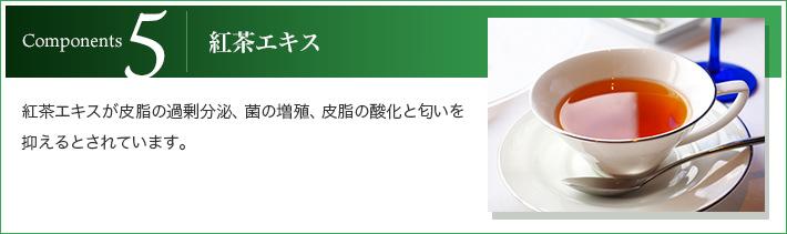 5.紅茶エキス